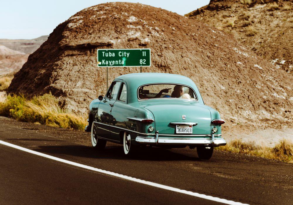 Classic American Car Road Trip